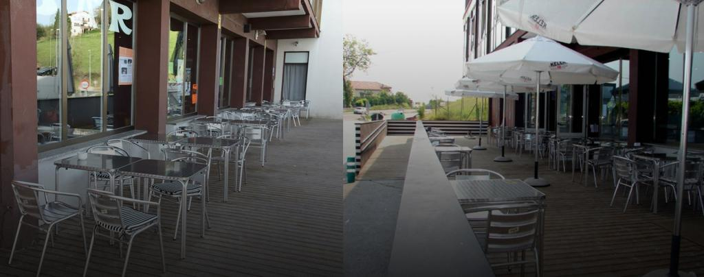 Enjoy our spacious terrace